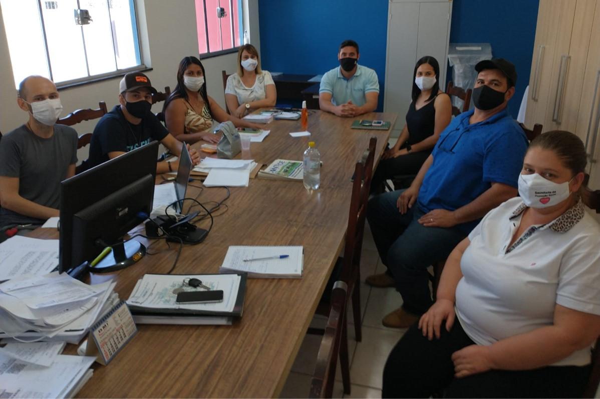 UVS Revita Quatá | Participação em Reunião Com Prefeitura Municipal