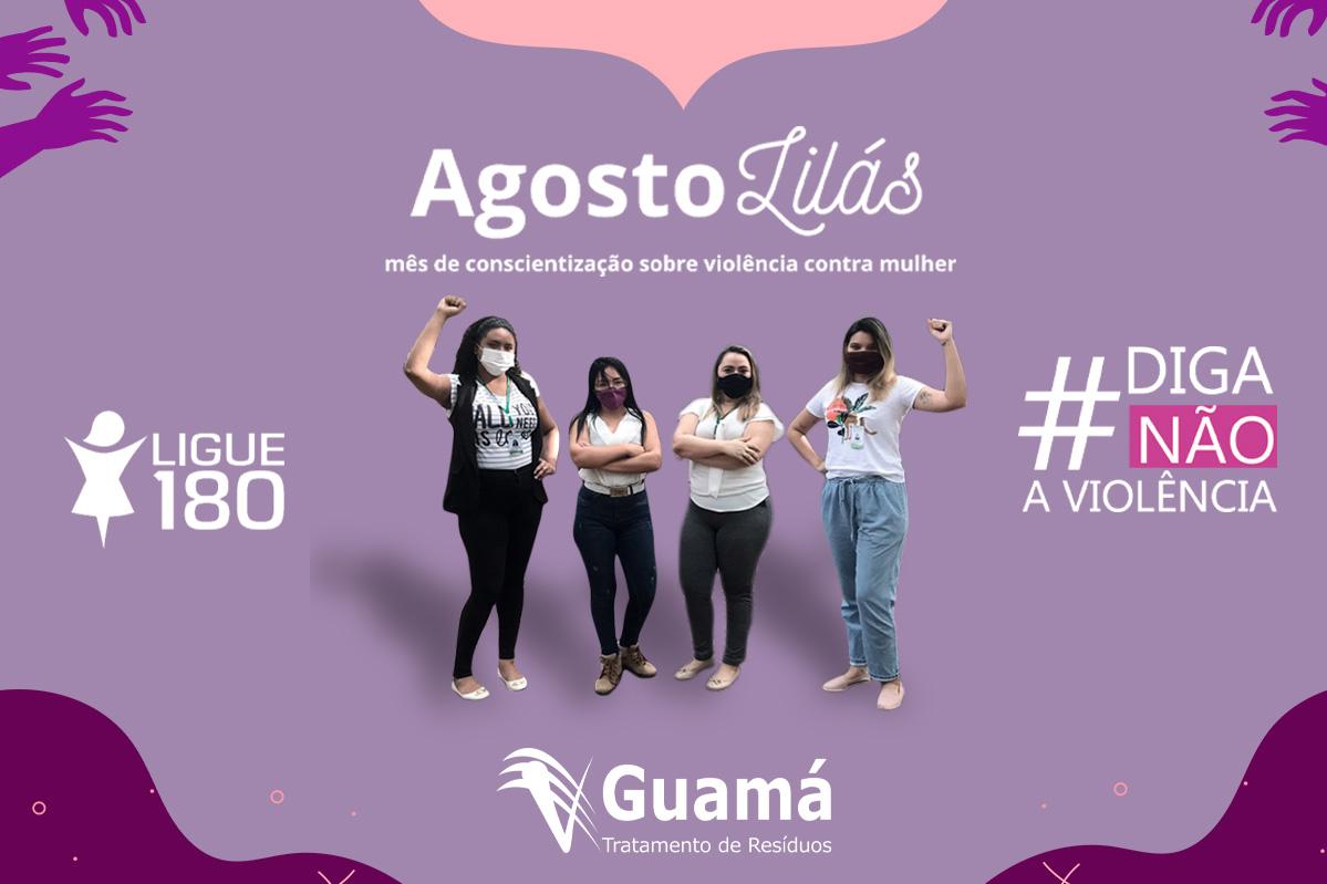 UVS Guamá | Encerramento da campanha Agosto Lilás