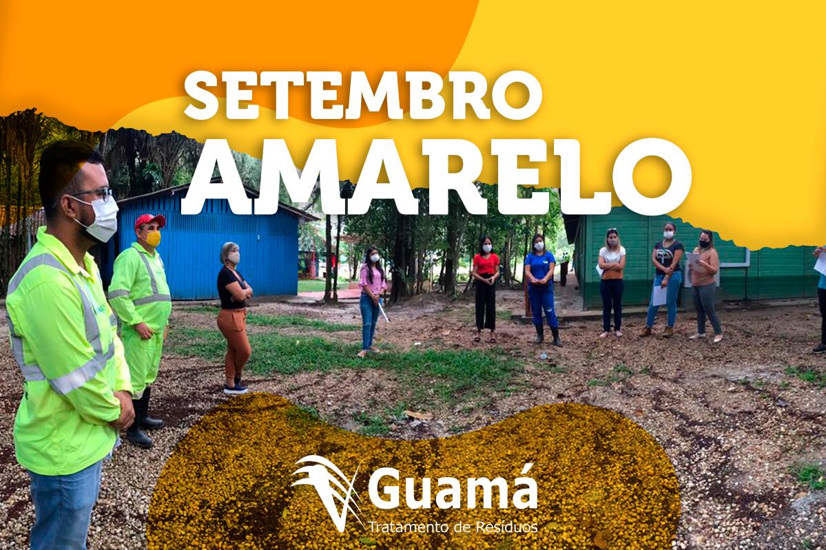 UVS Guamá | abrace à vida: Guamá lança campanha do Setembro Amarelo