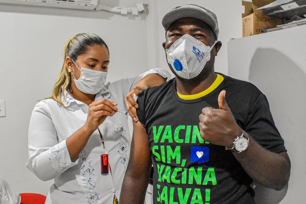 UVS Hera Ambiental | UVS Recebe Secretaria Municipal para Aplicação da 2ª dose da Vacina contra COVID-19