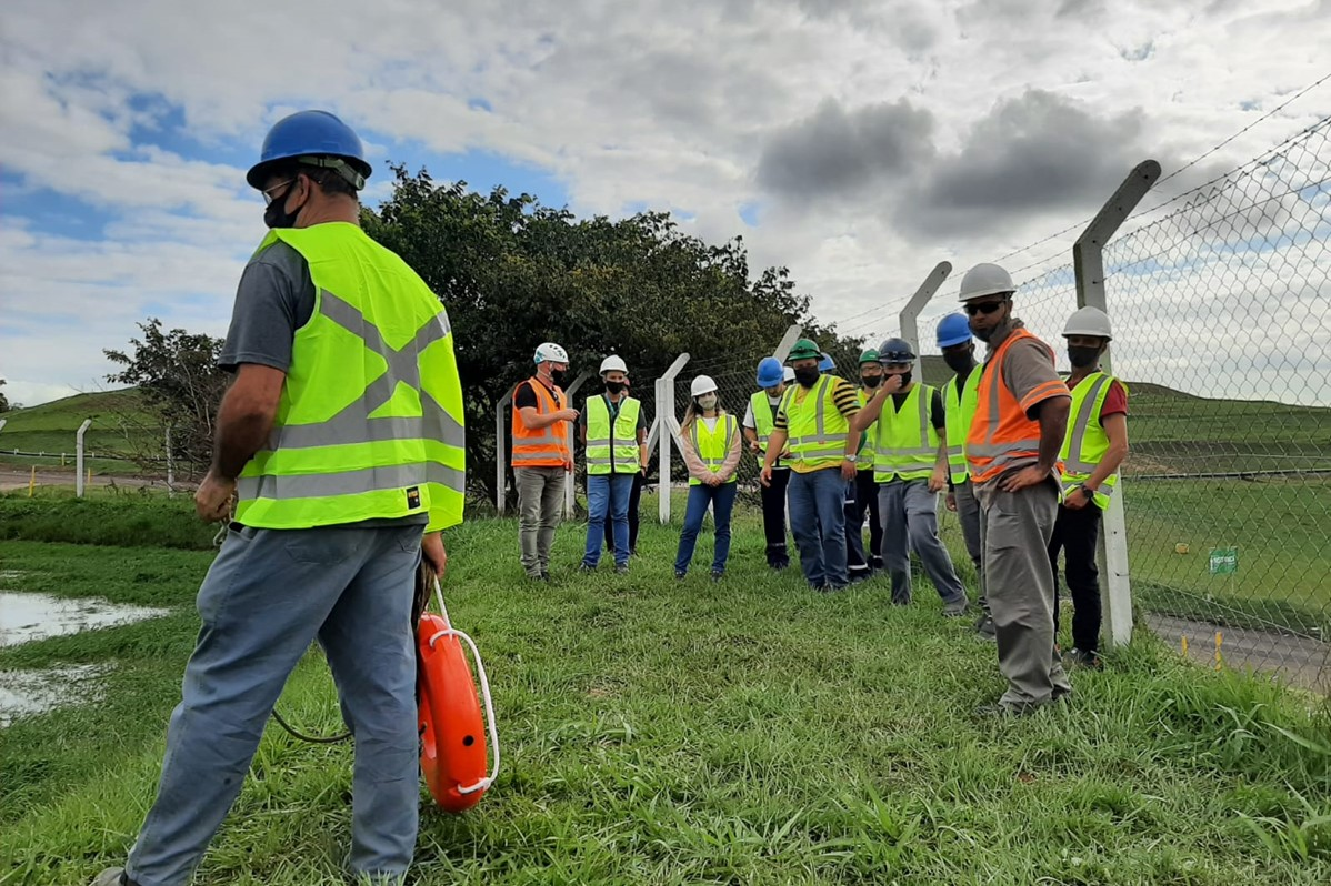 UVS CRVR Minas do Leão |  Treinamento da Brigada de Emergência