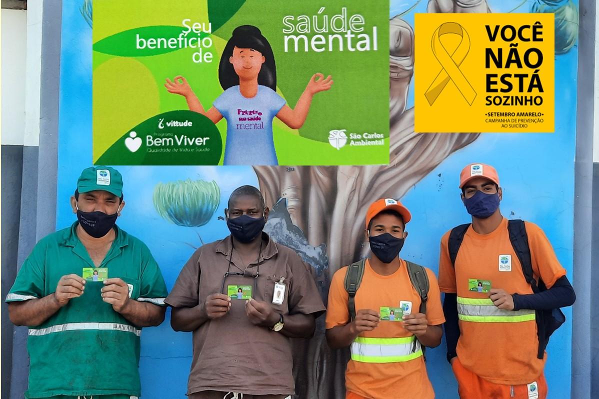 UVS SCA | Setembro Amarelo: Lançamento do Programa Bem Viver