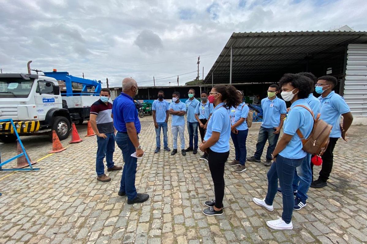 UVS Sotero Ambiental | Visita Técnica dos Jovens Aprendizes da OSID – Obras Sociais Irmã Dulce à Sotero Ambiental
