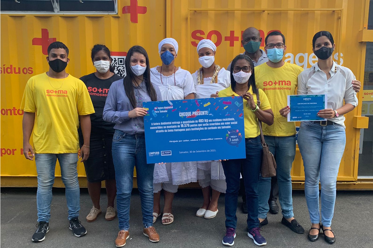 UVS Sotero Ambiental | Sotero Ambiental alia-se a startup de reciclagem para gerar valor social e ambiental à capital baiana
